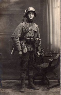 An Young austro-hungarian soldier