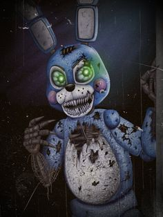 Nightmare Toy Bonnie by TangledMangle on DeviantArt