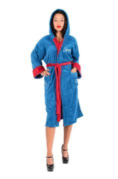 DC Comics Supergirl Bombshell Ladies Fleece Robe