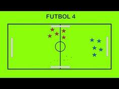 FUTBOL 4 - Juegos Educación Física