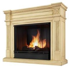 44 5 Quot Holly Amp Martin Huntington Gel Fireplace Ivory Home