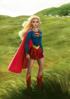Supergirl (1984) | The most incredible girl you'll ever meet | Artwork by Daniel Kordek [©2013]
