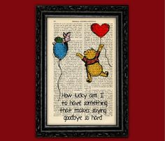 Winnie the Pooh As Soon As I Saw You Vintage by ThePurpleHamster