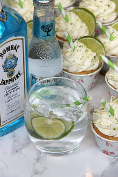 Gin and Tonic Cupcakes! - Jane's Patisserie