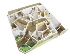 akihisa hirata architecture office models kotoriku from the city grid