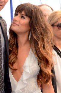 My favorite picture of Lea Michele's ombre!