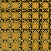 Osmanli ~ Selime  by peacoquettedesigns, Spoonflower digitally printed fabric
