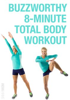 Get in a total body workout in only 8 MINUTES!