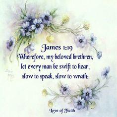 James 1:19 KJV