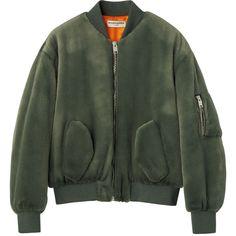ブルゾン ❤ liked on Polyvore featuring outerwear, jackets, coats & jackets and balenciaga
