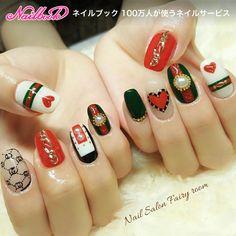 3d Nail Designs, Creative Nail Designs, Luv Nails, Swag Nails, Gucci Nails, Korean Nail Art, Magic Nails, Glamour Nails, Luxury Nails