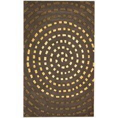 art - designs and patterns. 'Bricks' Rug.