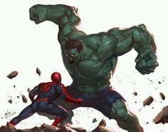 spidey Vs- The Hulk