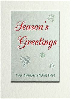 70 Best Real Estate Cards Images Custom Christmas Cards
