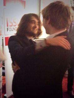 Rupert Grint and Daniel Radcliffe meet again!