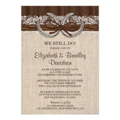 21 Best Wedding Vow Renewal Invitations Images Bridal Shower
