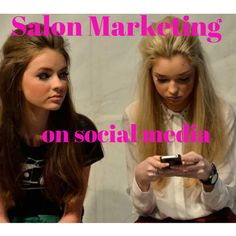 Salon Marketing on Social Media - the formula for share ability  Read blog here >>  #socialsharing
