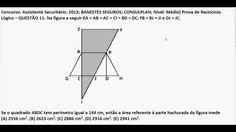 Cur so Raciocínio Lógico Matemático Área sombreada em triângulos e figur... https://youtu.be/BqAk9IV5J8A