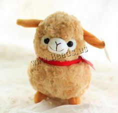 Plush Alpaca Doll
