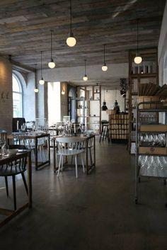 love the ceiling  Restaurant Host / Copenhagen / Menu Norm Dinnerware / Menu / Designtrade.dk / #DesignCPH