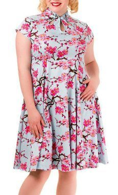 Cherry Blossom Dress - Plus Size