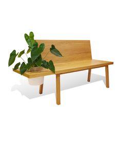 Pot - Banca con espacio para matera. Muebles originales para el hogar. $1.240.000 COP (Envío gratis). Cómprala aquí--> https://www.dekosas.com/productos/hogar-decoracion-muebles-perceptual-banca-pot-detalle