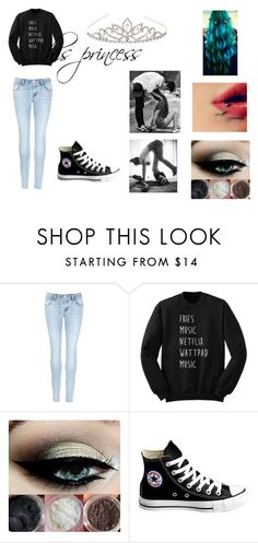 """""""Untitled #79"""" by unicornprincess0319 on Polyvore featuring J Brand, Converse and Accessorize"""