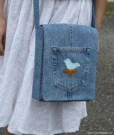 СУМКИ ИЗ СТАРЫХ ДЖИНСОВ. 65 ИДЕЙ! (Bags from old jeans. 65 the idea)