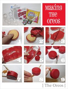 Oreo pop tutorial