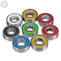 BAESKI 3PCS 608 Hybrid Ball Bearings For Tri-Spinner Hand Spinner EDC Fidget Toy - Fidget spinner (*Amazon Partner-Link)