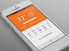 Weather App  by Radu Teodor Dragos
