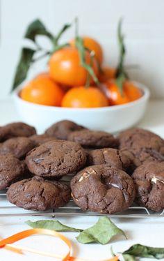 Triple Chocolate Cookies - cookies