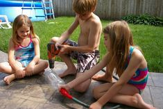 making a sprinkler