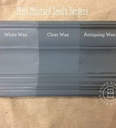 Miss Mustard Seed's Milkpaint Bergere is een smokey blauw grijze kleur, niet zo blauw als de andere tinten in deze lijn, maar zeker een die statement maakt.