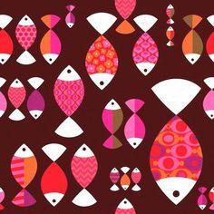 patternprints journal: PATTERNPRINTS JOURNAL GOES TO HOLIDAYS / FISH PATT...