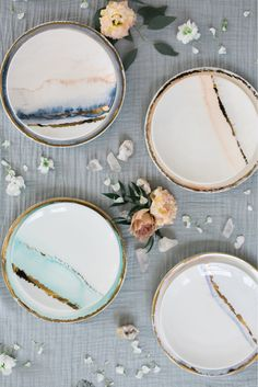 Marble plates, yes please! Marble plates, yes please!