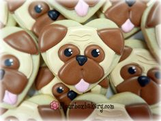 Flour Box Bakery — How to Decorate a Pug Cookie