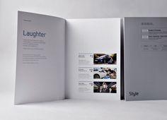 fort no. D9 | Hyundai Motor Company Modern premium image book Editorial Design Layouts, Layout Design, Web Design, Print Design, Mise En Page Portfolio, Portfolio Layout, Portfolio Design, Pamphlet Design, Booklet Design