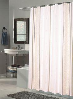 http://www.bebarang.com/unique-long-shower-curtains/ Unique Long Shower Curtains : White Long Shower Curtain