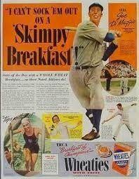 Joe DiMaggio Wheaties Box