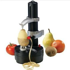Buy Portable Electric spiral Apple Peeler Cutter pear potato peeler with EU plug Fruit & Vegetable Tools Kitchen Accessories Cool Kitchen Gadgets, Kitchen Items, Kitchen Utensils, Cool Gadgets, Kitchen Tools, Cool Kitchens, Cheap Gadgets, Kitchen Shop, Kitchen Things