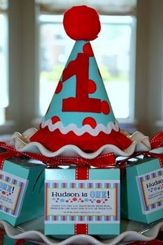 Stylish Childrens Parties: A Dr. Seuss-Inspired First Birthday Party