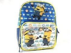 Despicable Me Minions Look At You 10 Inches Backpack 36592. #Despicable #Minions #Look #Inches #Backpack