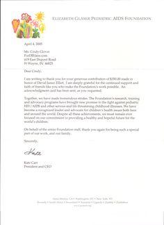donation thank you letter donation thank you letter donation