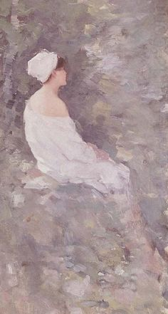 After a Bath Nicolae Grigorescu Wholesale Oil Painting China Picture Frame 30740 Impressionist Paintings, Watercolor Paintings, Oil Paintings, Watercolors, Bathroom Pictures, White Art, Art World, Great Artists, Art Boards