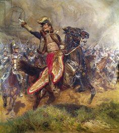 General Antoine-Charles-Louis Lasalle (1775-1809) 1912 (oil on canvas)