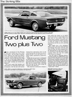 Mustang Ad