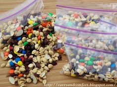 Homemade Energy Trail Mix soccer snack ideas for kids #soccer #kids #recipe