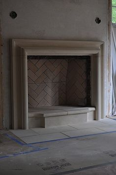 $2900 Cast Stone Hoods and limestone fireplace custom products