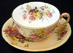 Royal Worcester....the factory now gone from Worcester, only the museum remains....